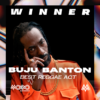 BUJU BANTON WINS BEST REGGAE ACT  AT THIS YEAR'S MOBO AWARDS
